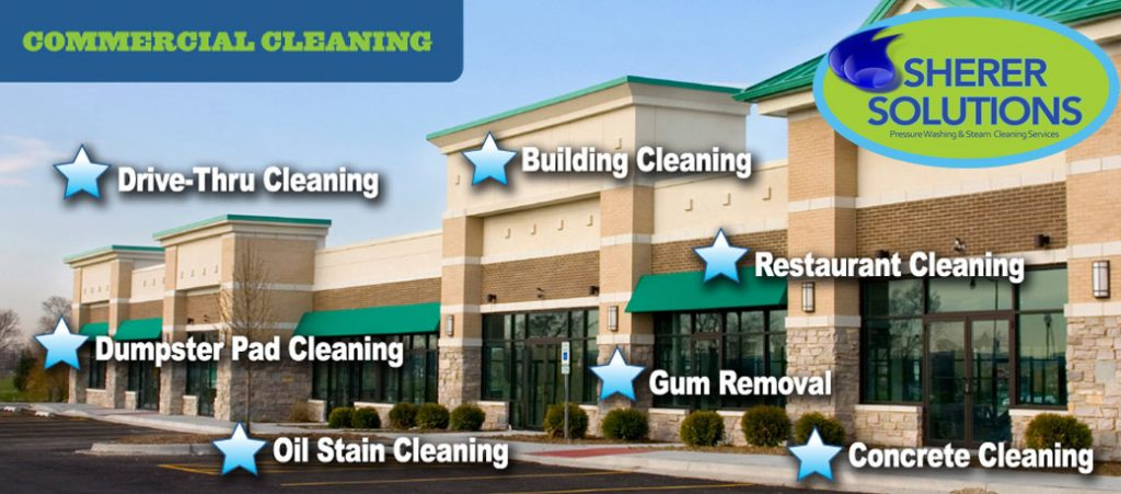 Commercial Cleaning – Sherer Solutions