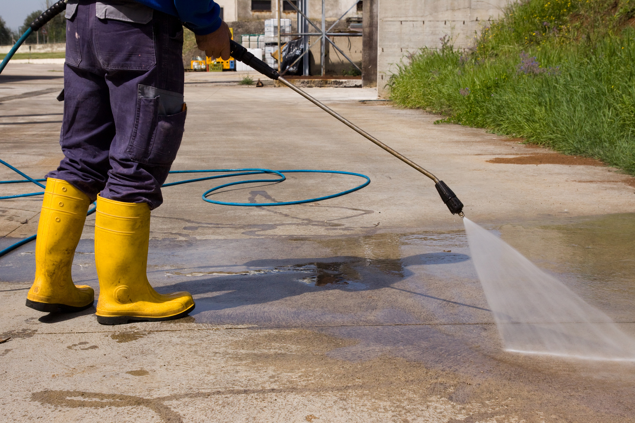 Parking Lot Cleaning Sherer Solutions